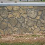 Simple Random Rock Effect By Hand Using Wallcrete Stone Effect Render