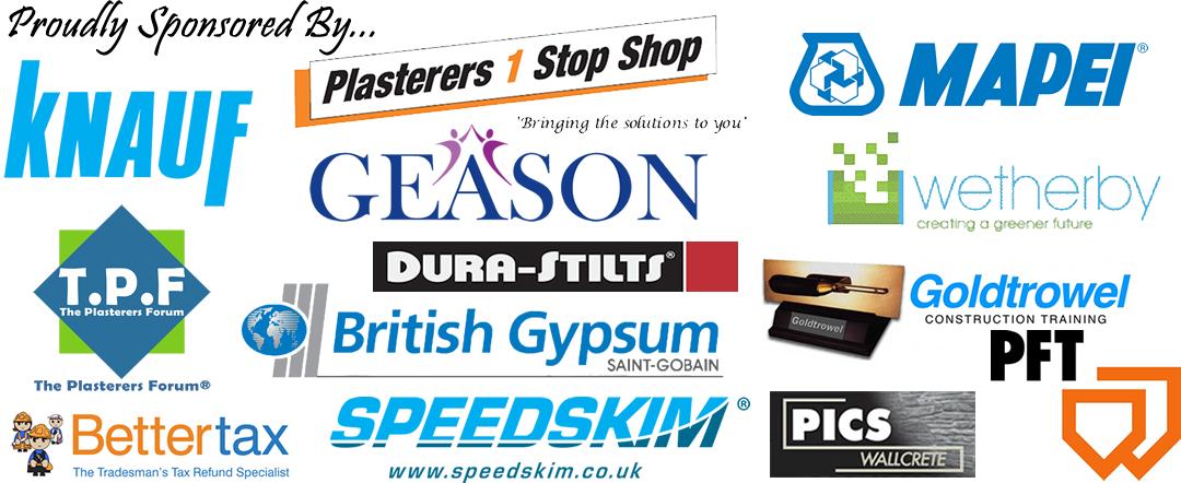 Plasterers News Sponsors