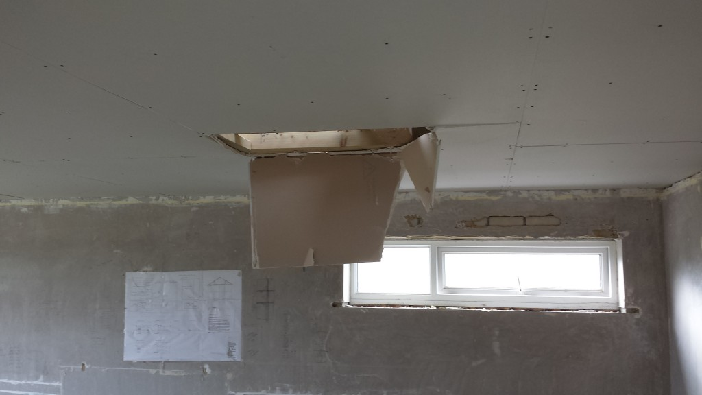 Foot Through The Ceiling