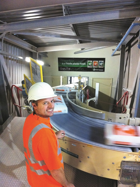 British gypsum encourages sustainable construction with for Lca construction