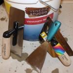 Venetian Plastering Tools