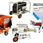 The EZE 24 and EZE K4 Plastering Machines