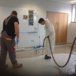 FeRFA Apprentices Finish Formal Training With Practical Experience In Laying Pumped Screeds At Instarmac