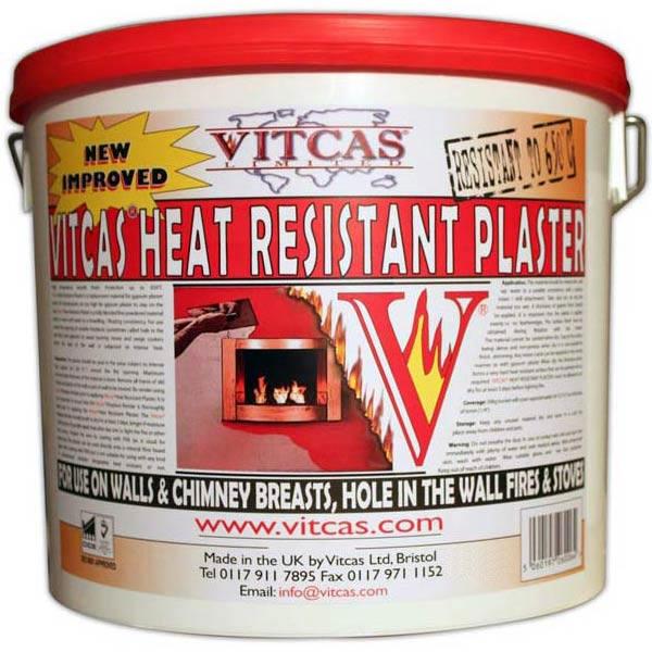 Fire Resistant Concrete Mix : Heat resistant plaster plastering a fireplace