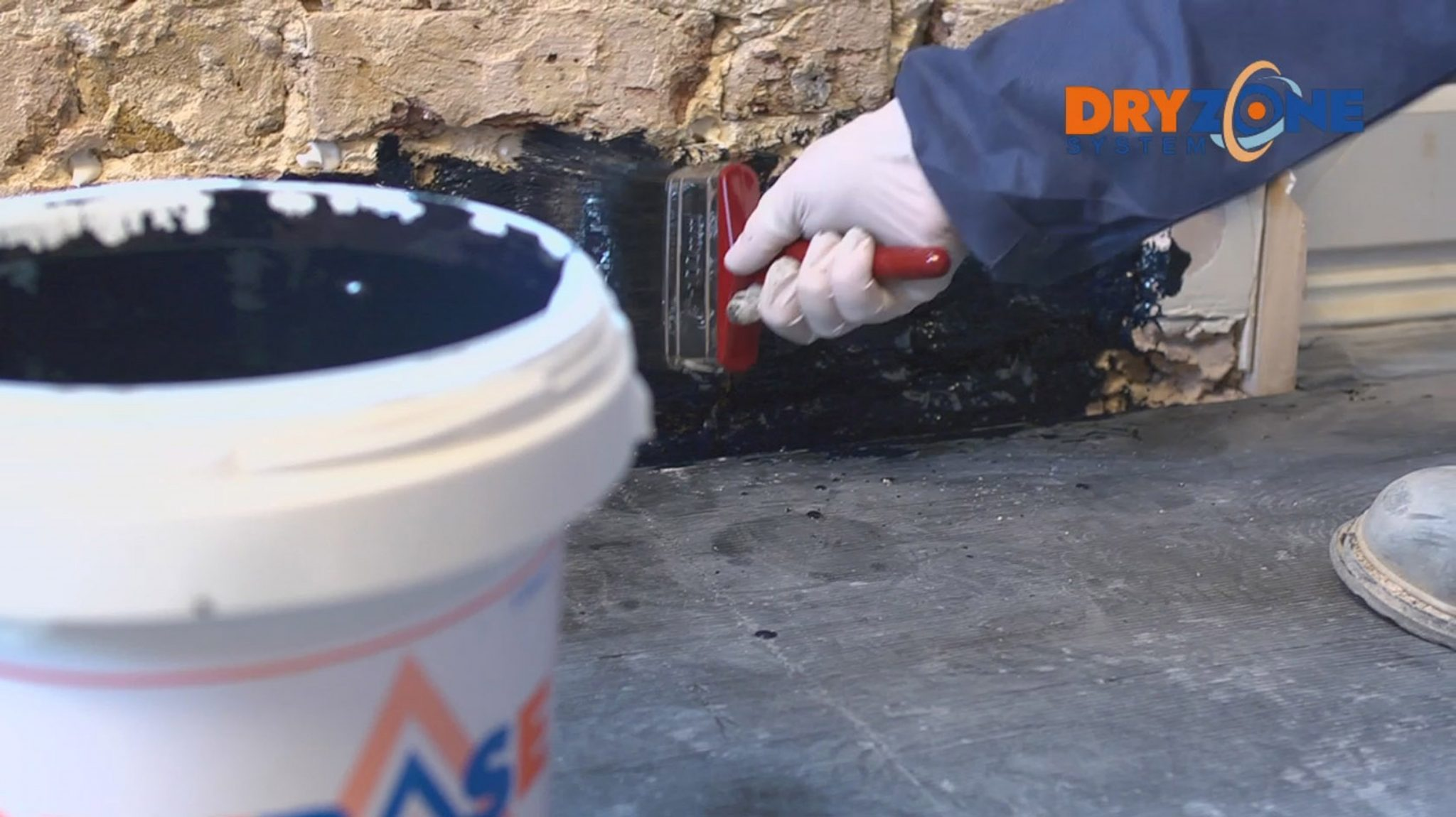 Handy Drybase Damp And Vapour Barrier In A Bucket From