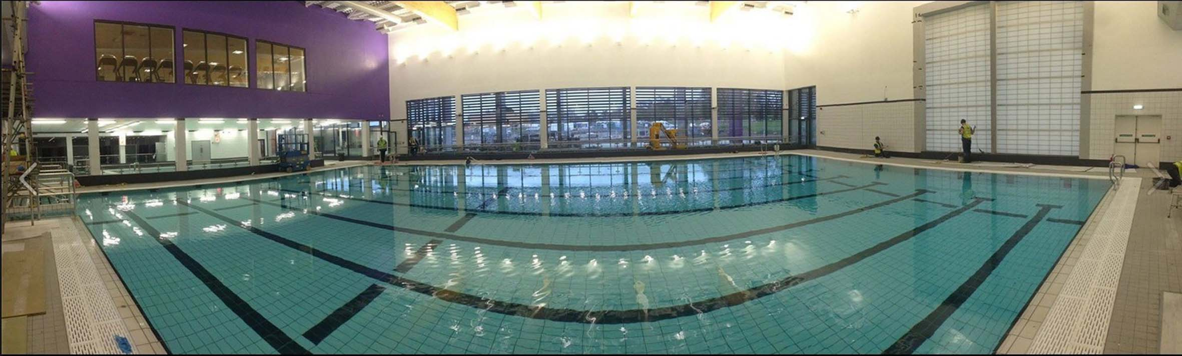 Weber Rend Ocr By Saint Gobain Weber Saves Time And Money At New Flitwick Leisure Centre