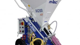 A Closer Look At The M-Tec M200 Plastering Machine