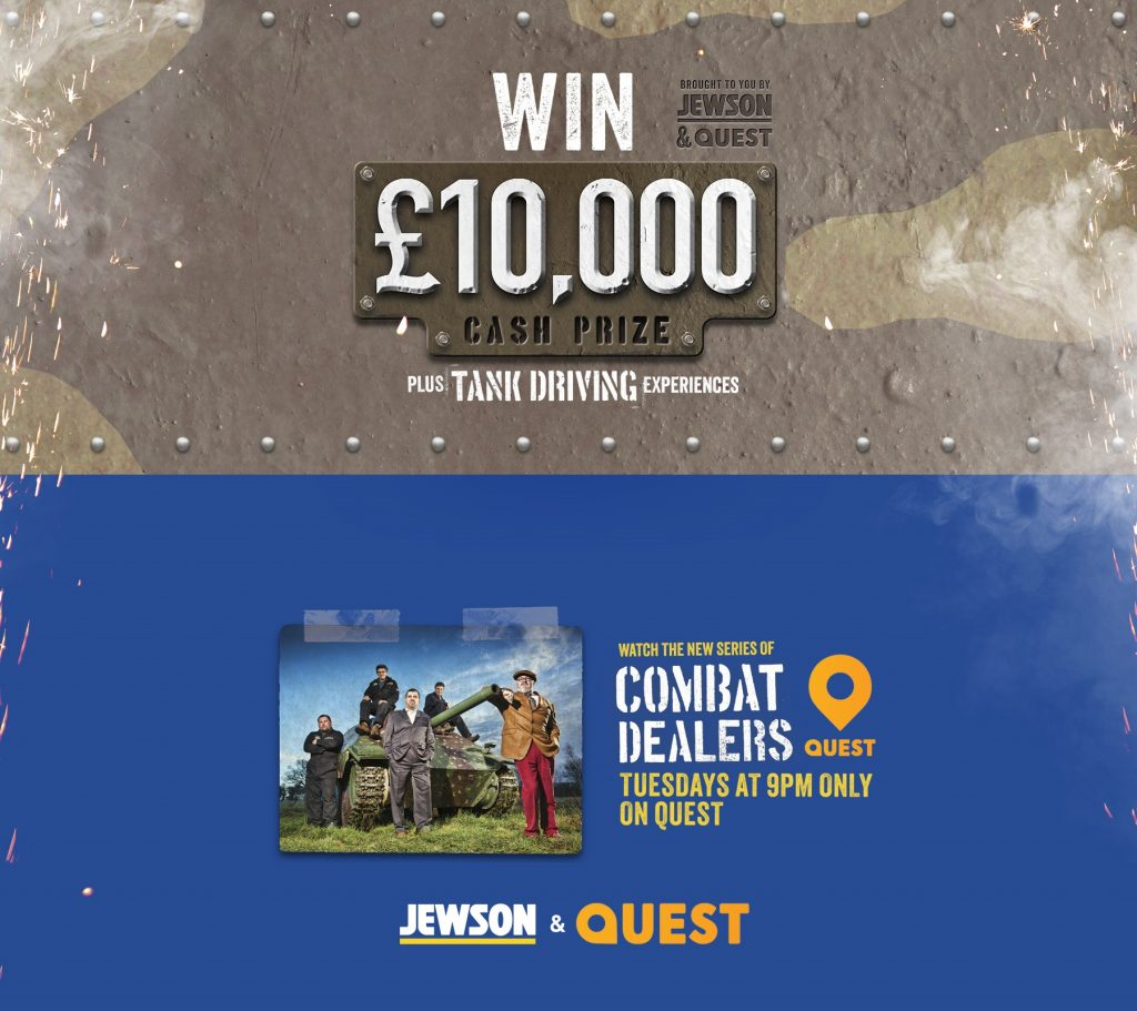 JEWSON LAUNCHES A WINNING QUEST