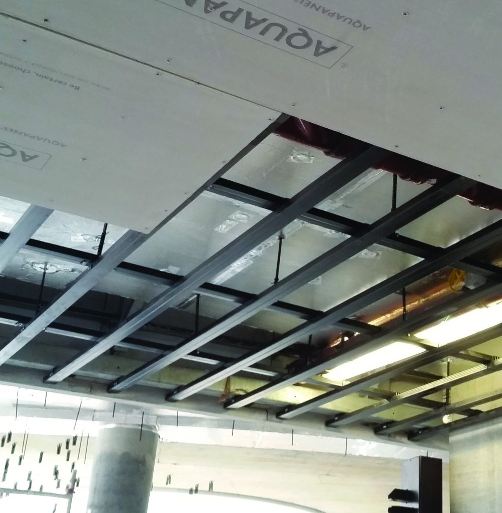 Wa S Leading Supplier Of High Quality Ceiling: Knauf Boasts Full Ceiling System Solutions For Wet Indoors