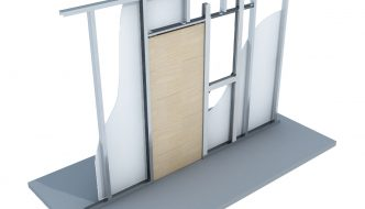 It's unpack and go with the new Knauf Sliding Door Kit
