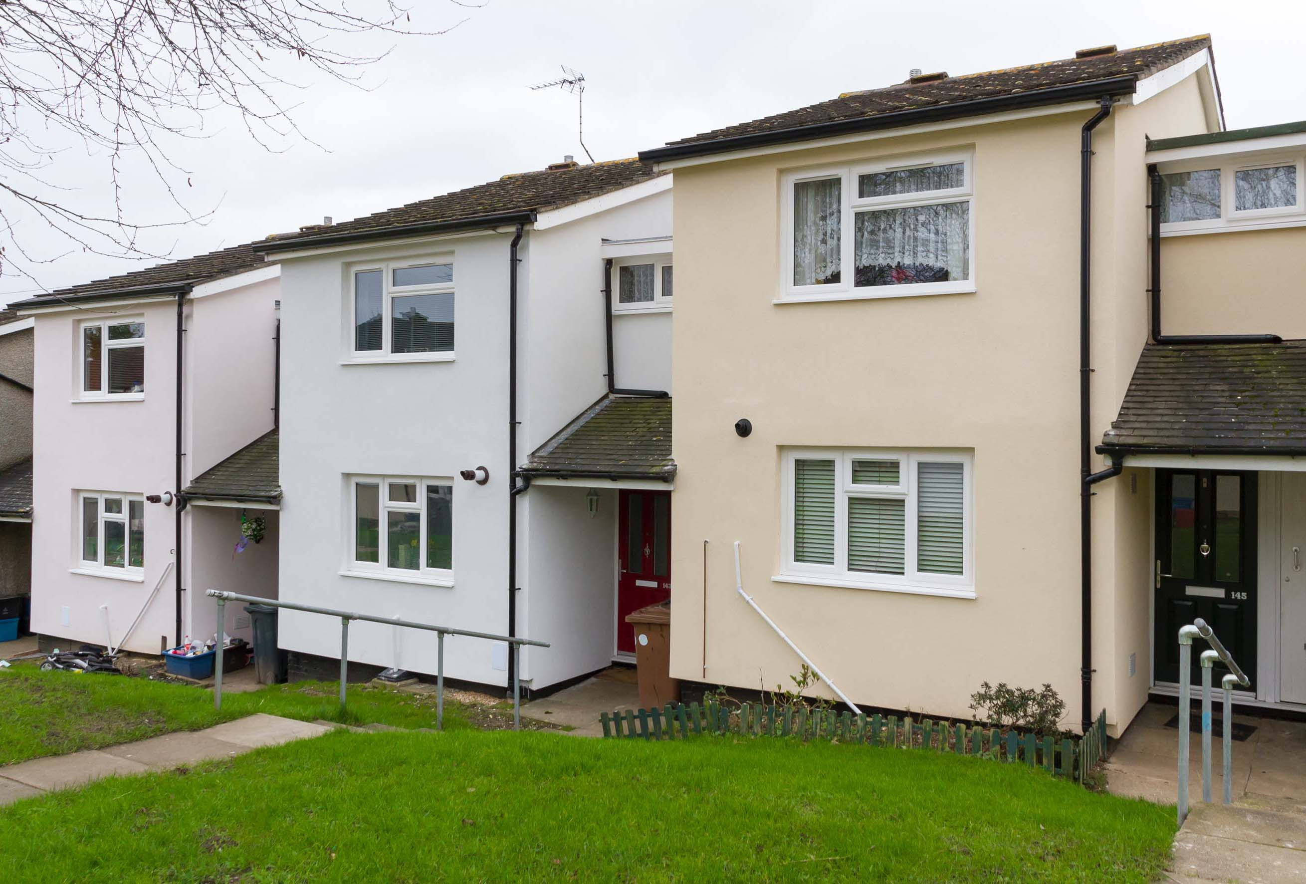 Stevenage Homes Brought Up to Spec With Saint-Gobain Weber External Wall Insulation