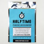 Plaster Faster with Halftime Plaster Accelerator