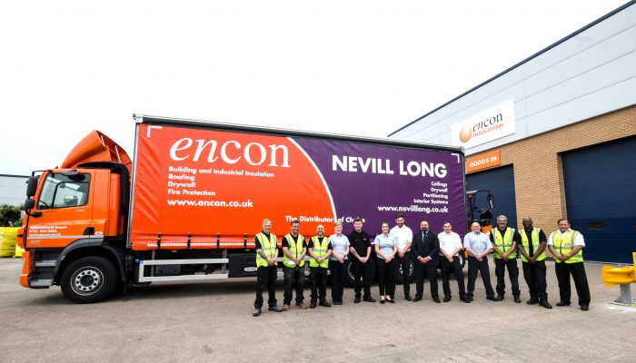 ENCON INSULATION DOUBLES SIZE AT BRAND NEW  BIRMINGHAM BRANCH
