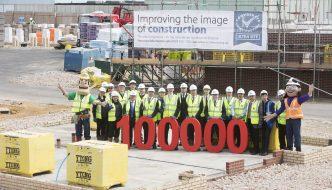 Considerate Constructors Scheme reaches major 100,000 milestone