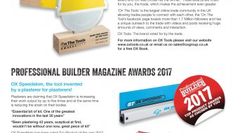 OX Hand Tool Of The Year 2017