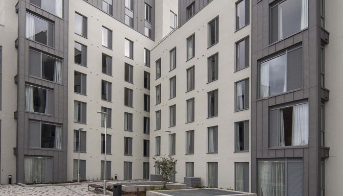 Saint-Gobain Weber Helps to Ease Dublin's Student Accommodation Shortage