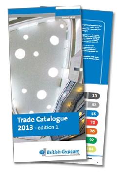 British Gypsum Trade Catalogue 2013