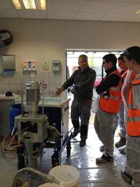 FeRFA Apprentices get pumped up at Instarmac