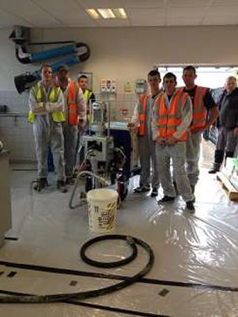 FeRFA Apprentices get pumped up at Instarmac1