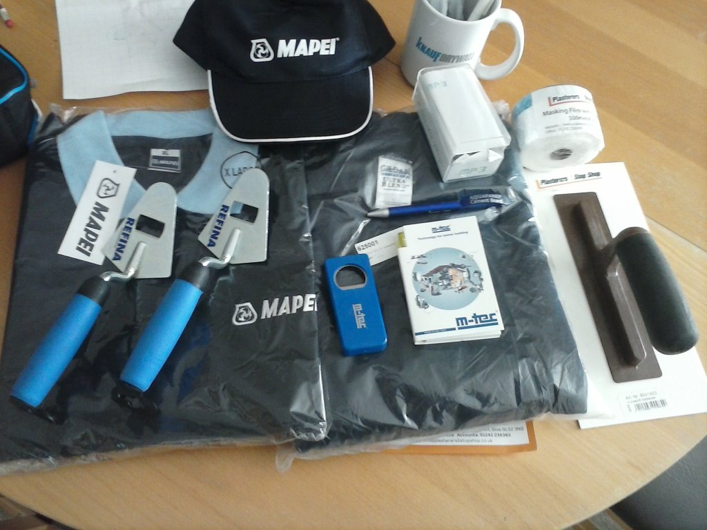 The Plasterers Forum Prizes