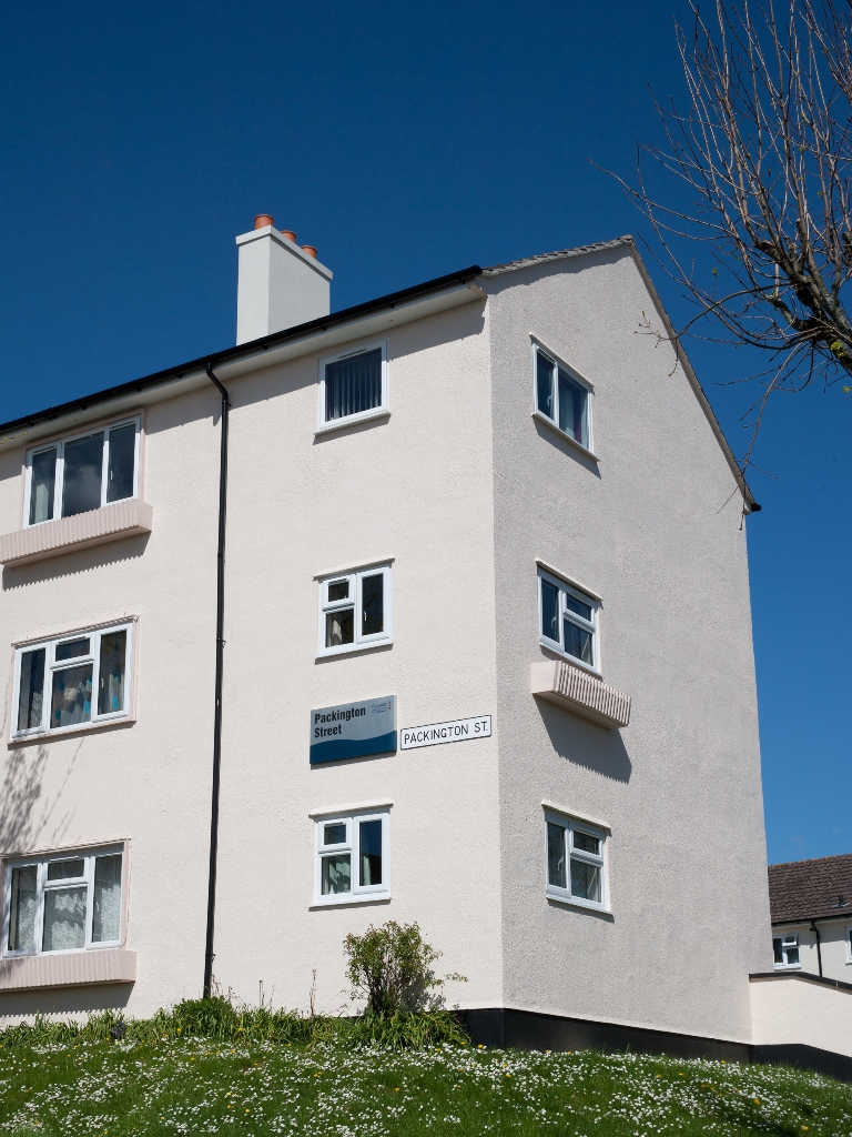 Plymouth Community Homes Protects With Dulux Trade Pyroshield Paint