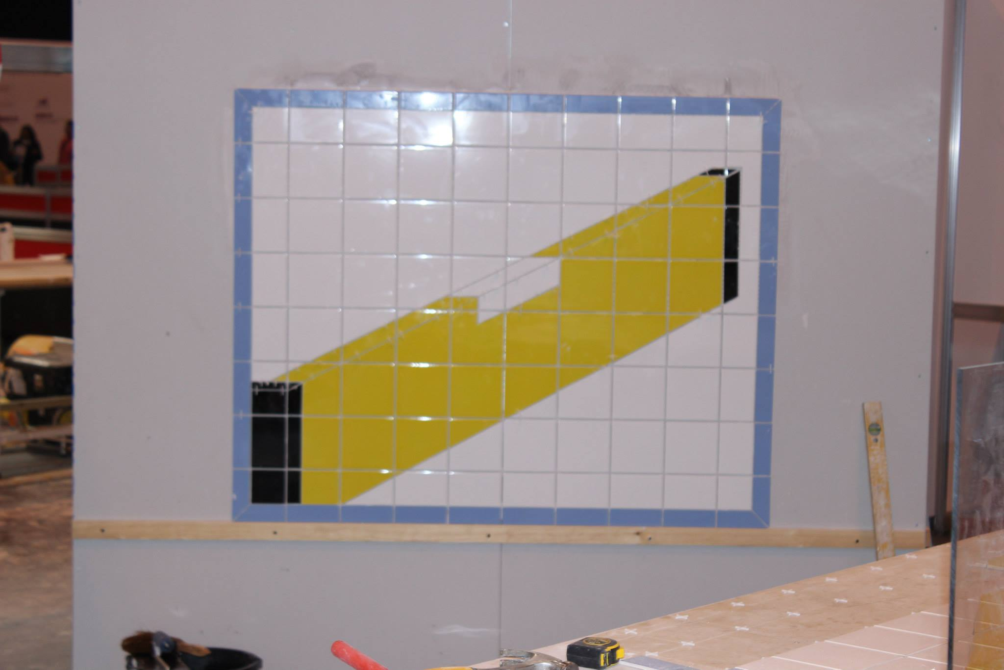 Tilers Doing impressive work