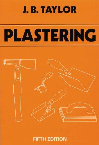 JB Taylor Plastering Books