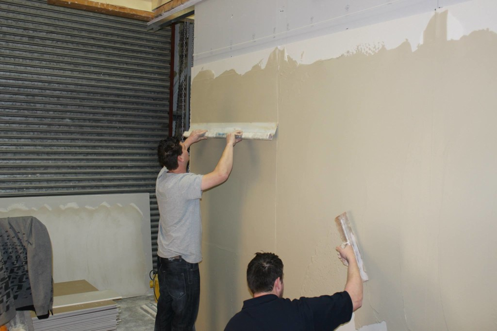 Currier Plasterers Show Us How Its Done