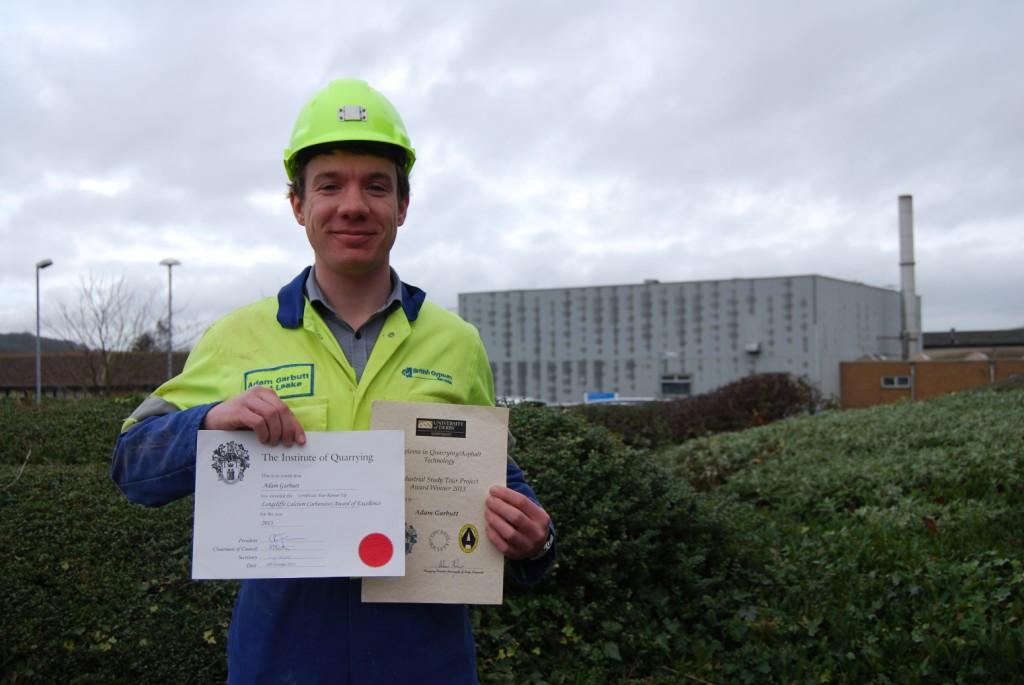 British Gypsum Graduate Wins Outstanding Achievement Award