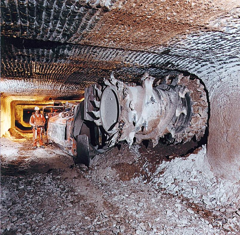 Joy Mining - British Gypsum Mine Tour