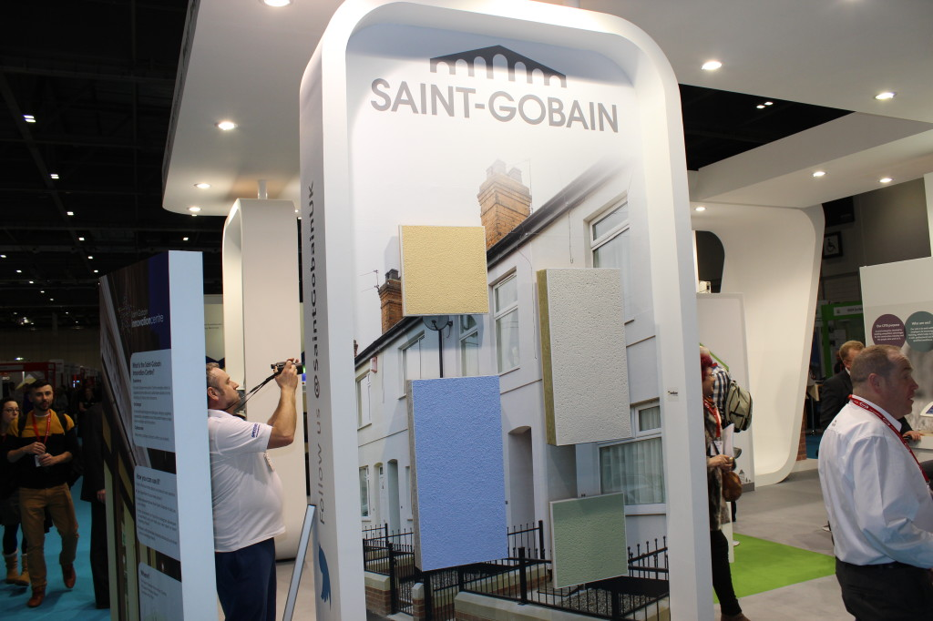 Saint Gobain At Ecobuild 2014