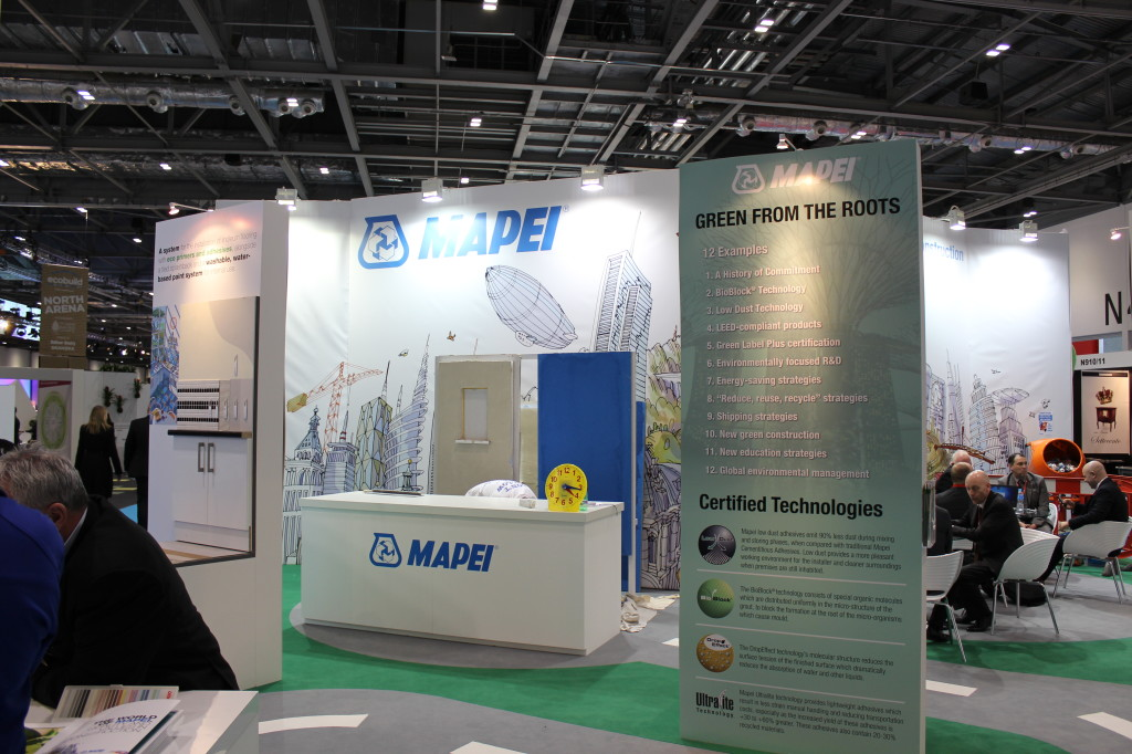 Mapei At Ecobuild