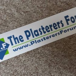 The Plasterers Forum® Bumper Sticker