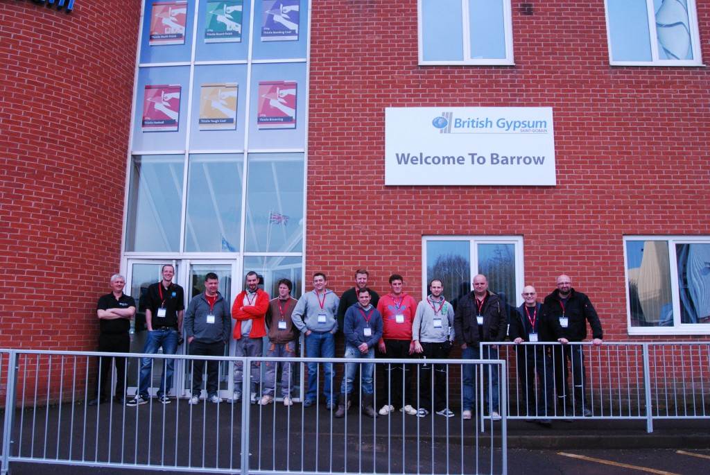 The Plasterers Forum At The Barrow Mine