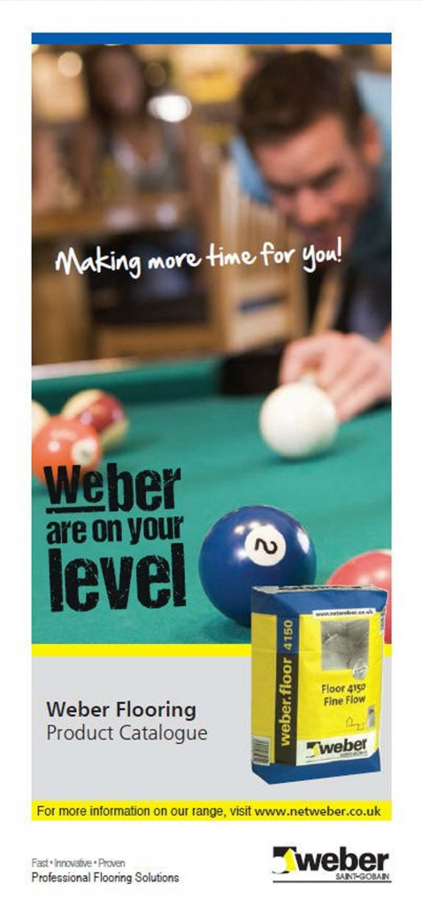 ON YOUR LEVEL' WITH SAINT-GOBAIN WEBER FLOORING SYSTEMS