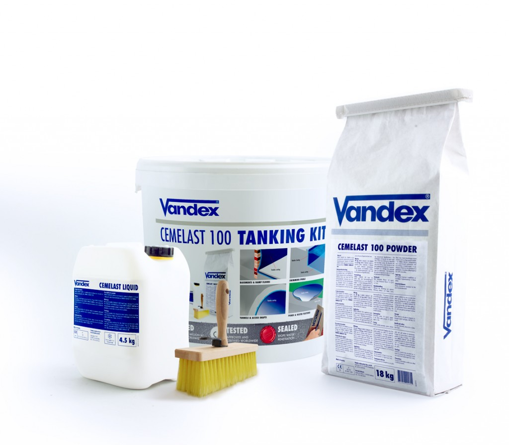 Handy Vandex kit delivers simple tanking solution
