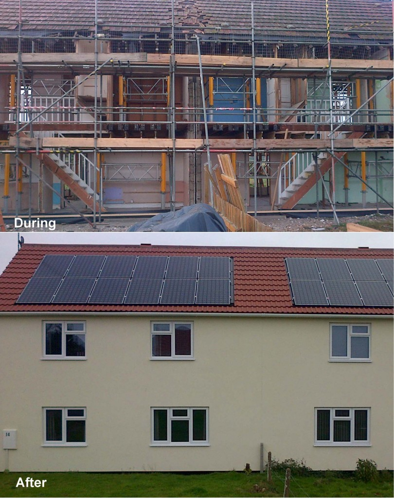 """Saint-gobain Weber Ewi Gives """"lift-off"""" To Airey House Rebuilds"""