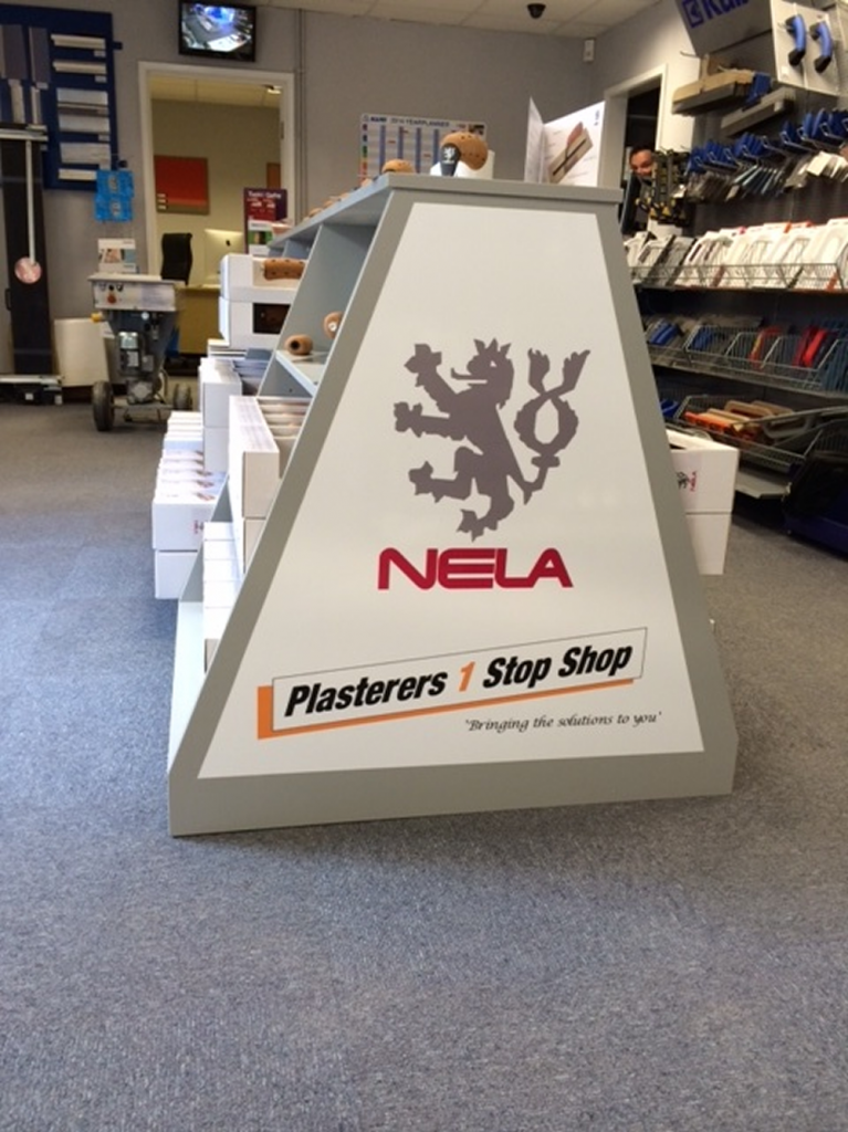Nela Stand At Plasterers 1 Stop Shop