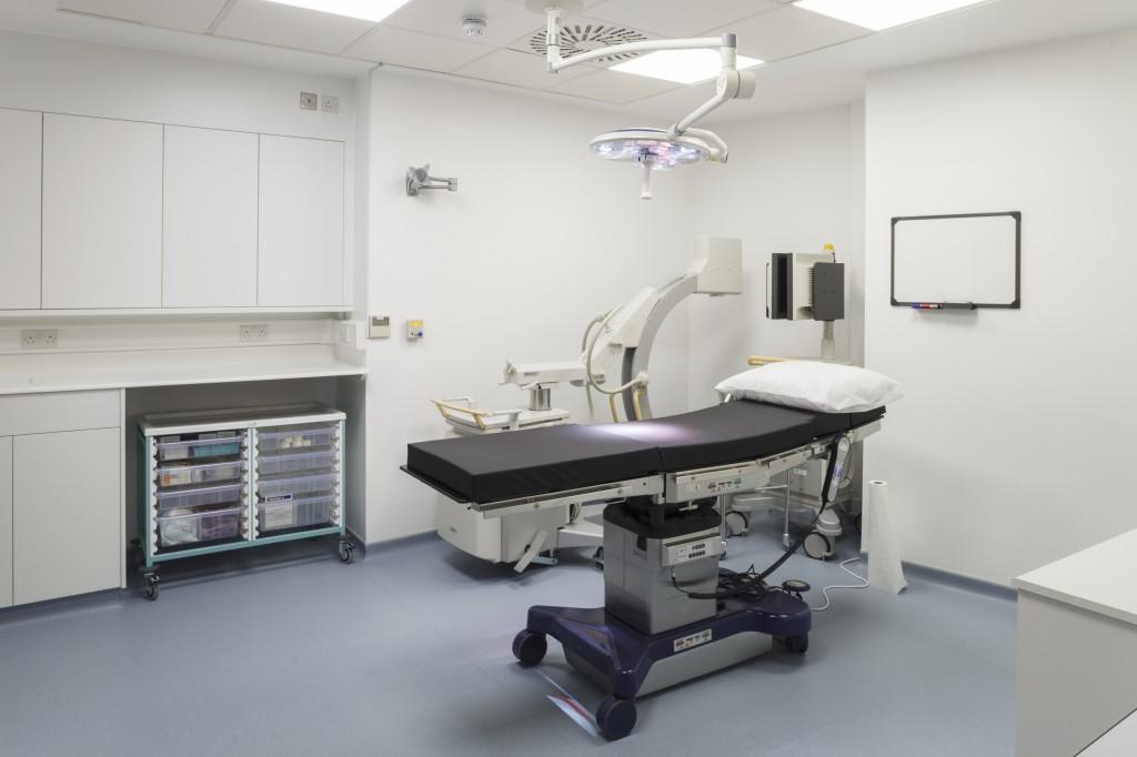 Knauf Whiteley Clinic Safeboard