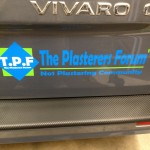 The Plasterers Forum Van Sticker