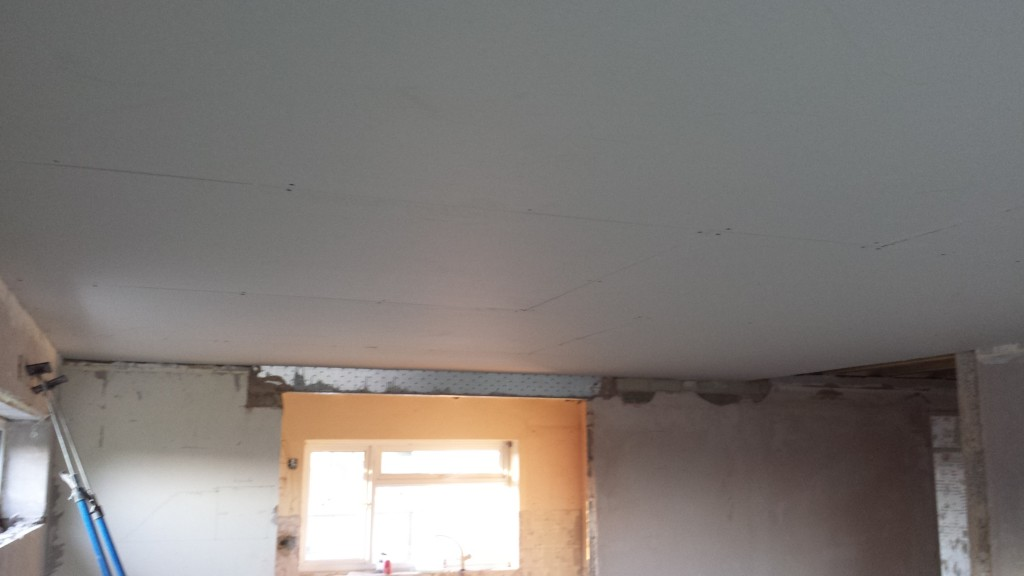 Lounge Ceiling Tacked