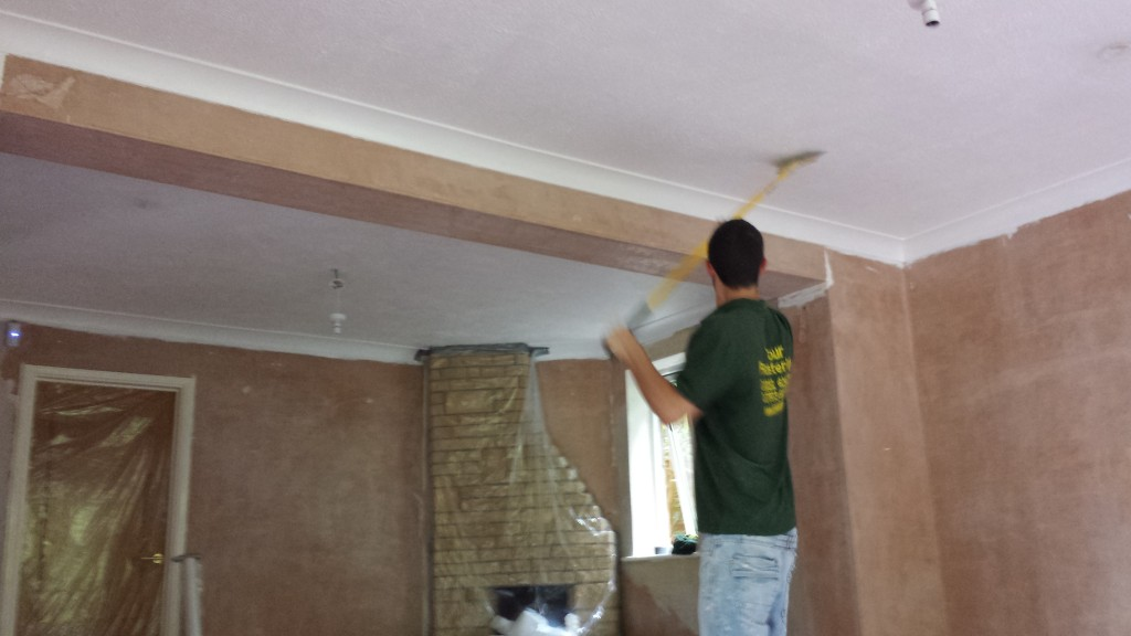 Neck Pain From Plasterers