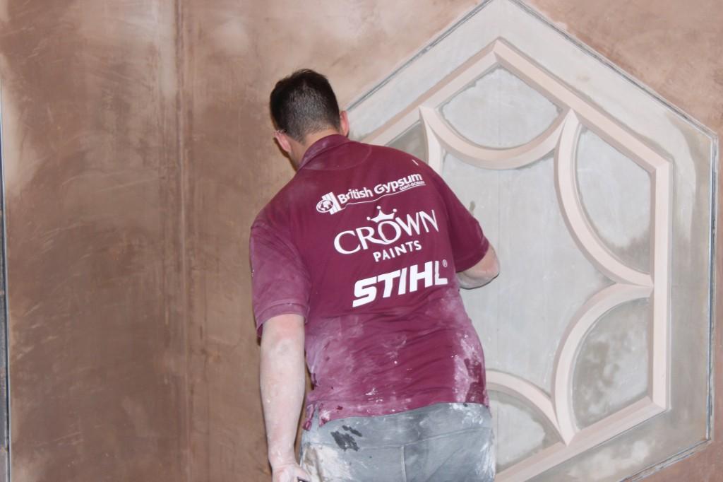 Skillbuild 2014 Plastering Competition