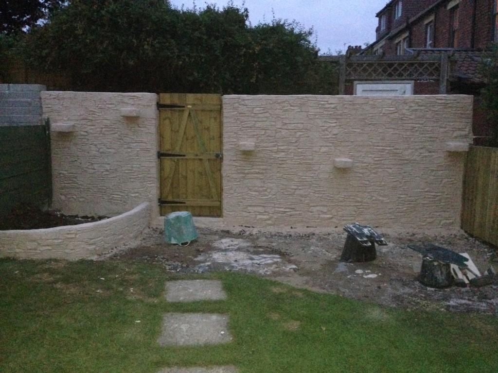 Wallcrete Stone Render