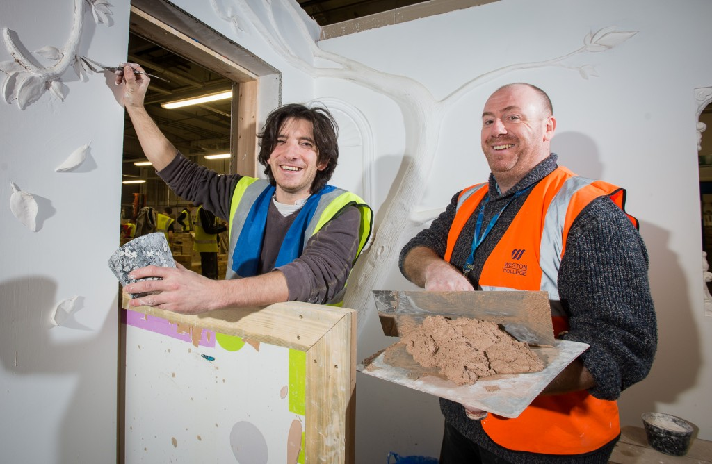 Weston College Student Discovers Creative Talent In 16th Century Plastering