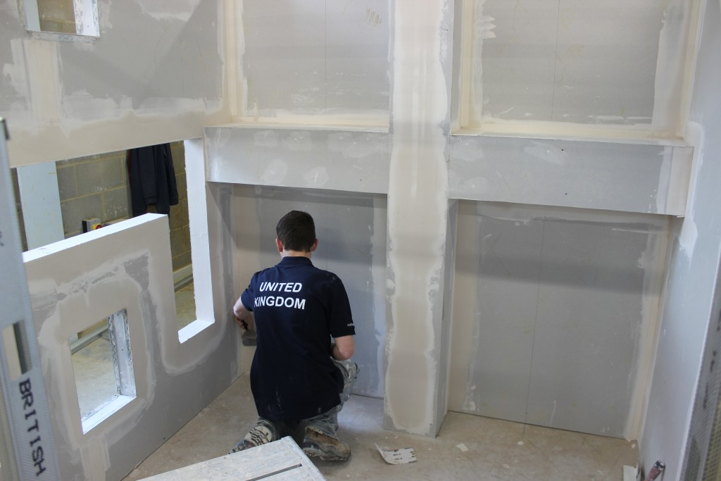 Worldskills Plastering Competition