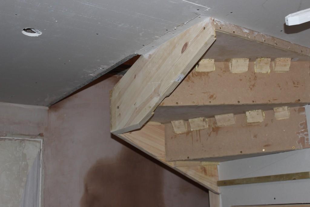 Stair Winder Plastering