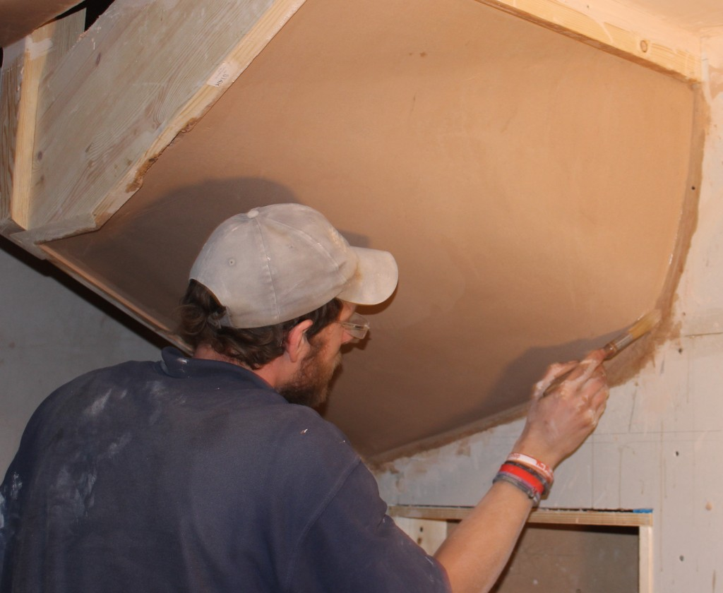 Plastering a Stair Winder