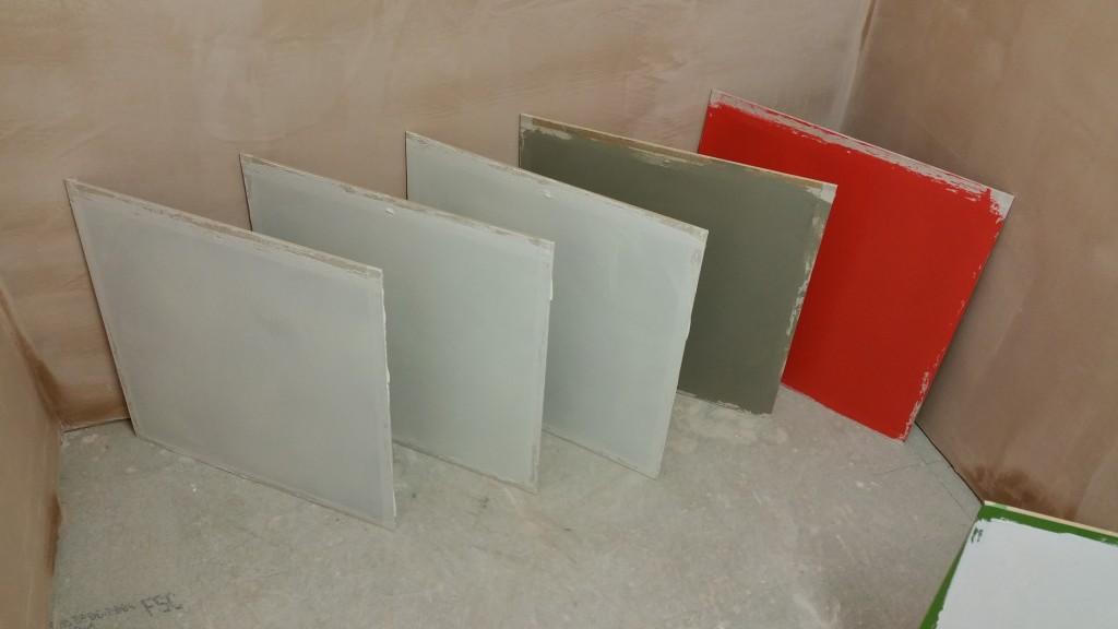Venetian Plaster sample boards
