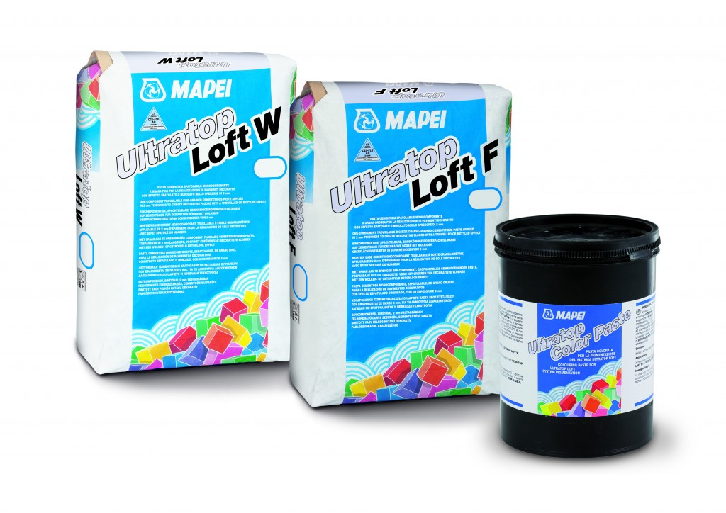 Ultratop Loft Product Group Packaging